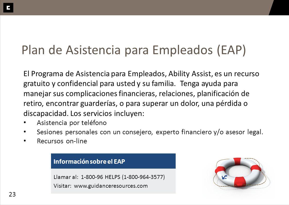 Plan de Asistencia para Empleados (EAP)