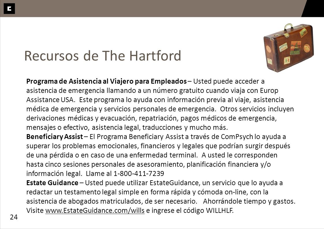 Recursos de The Hartford