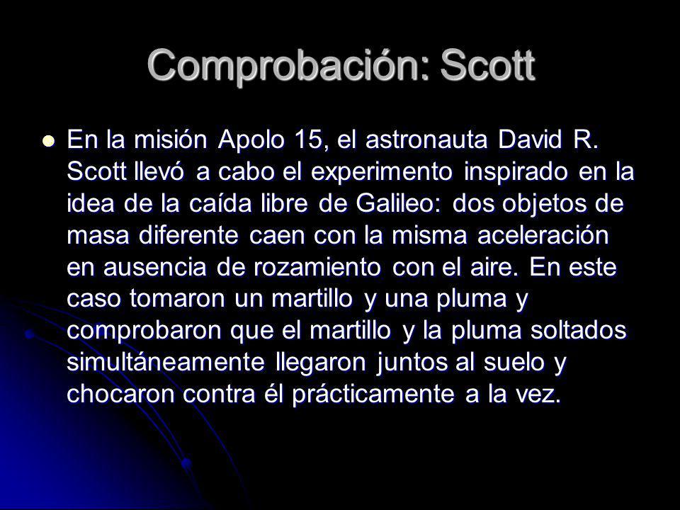Comprobación: Scott