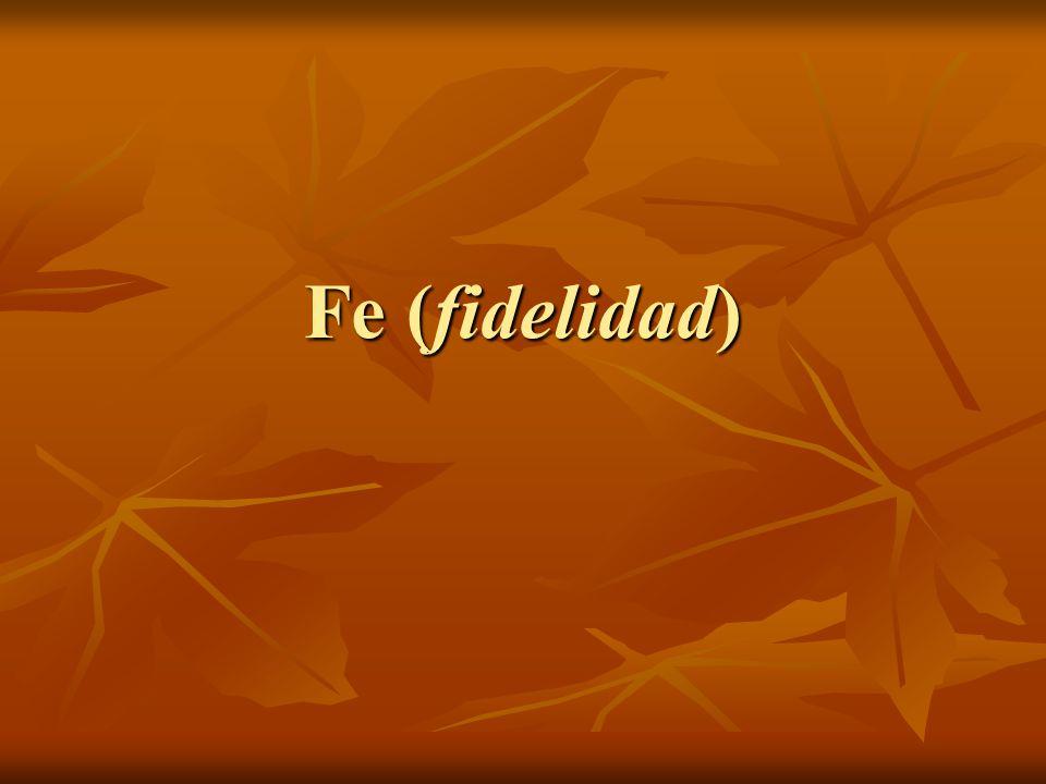 Fe (fidelidad)