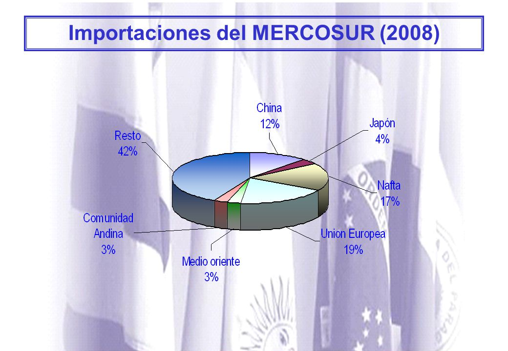 Importaciones del MERCOSUR (2008)