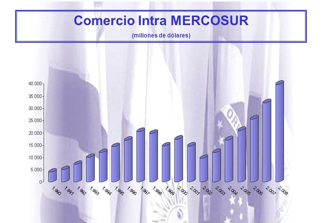 Comercio Intra MERCOSUR