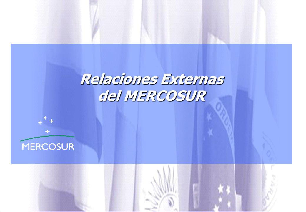Relaciones Externas del MERCOSUR