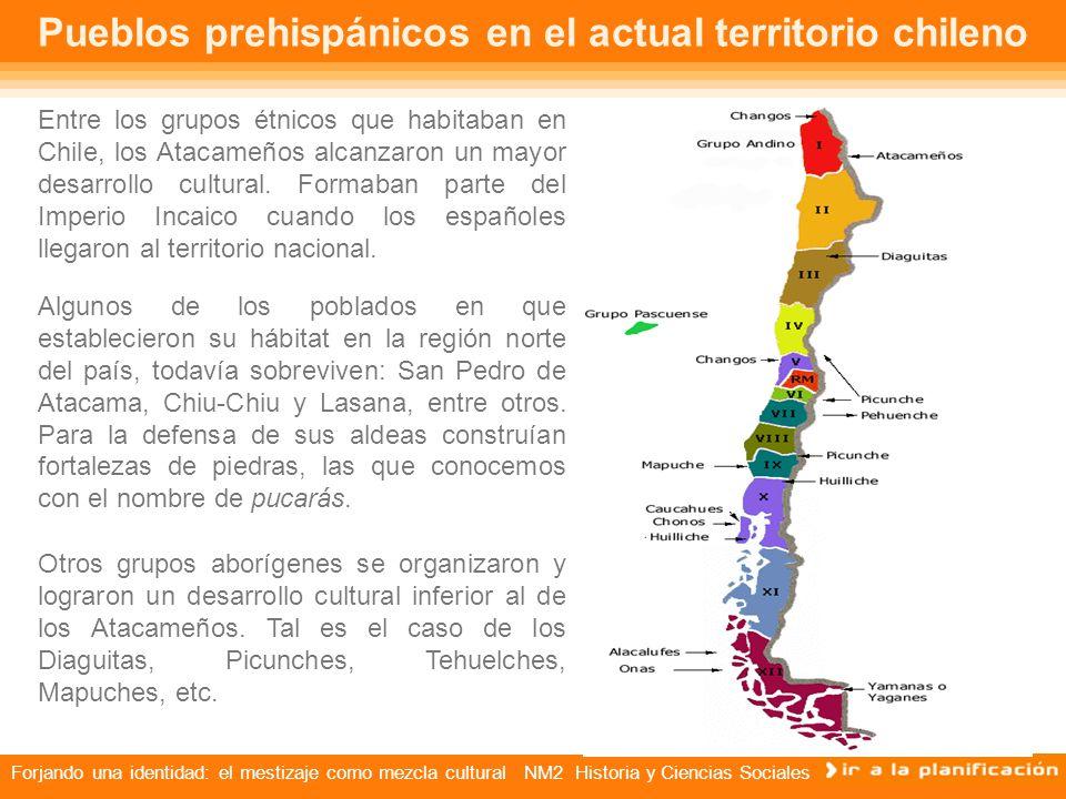 Pueblos prehispánicos en el actual territorio chileno
