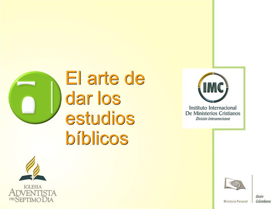 El arte de dar los estudios bíblicos