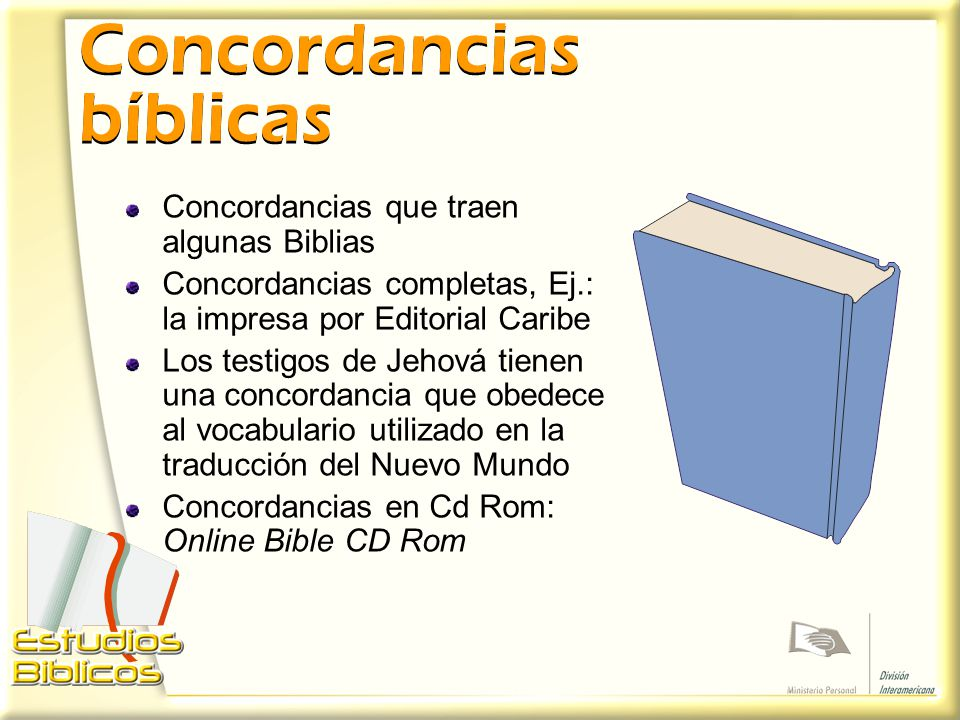 Concordancias bíblicas