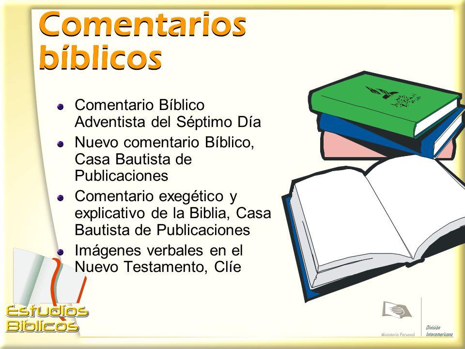 Comentarios bíblicos Comentario Bíblico Adventista del Séptimo Día