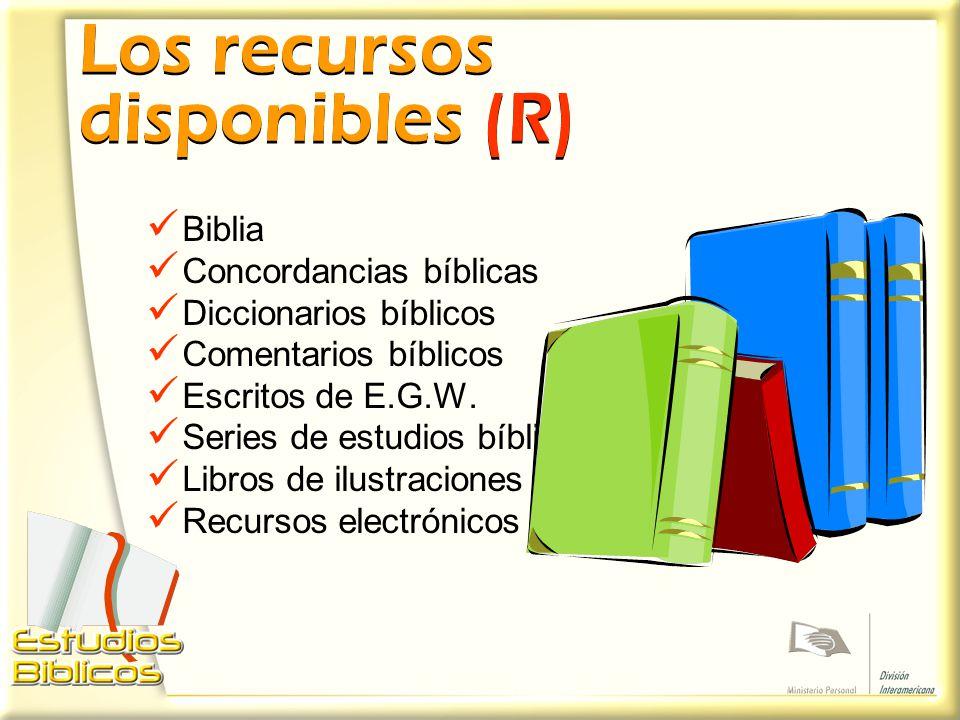 Los recursos disponibles (R)
