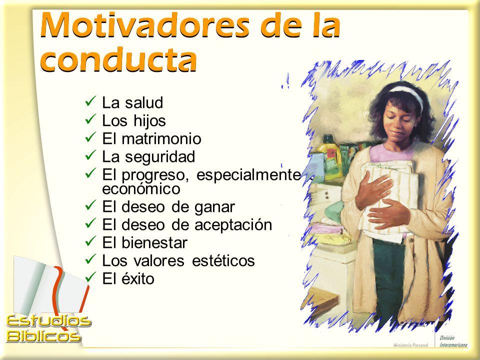 Motivadores de la conducta