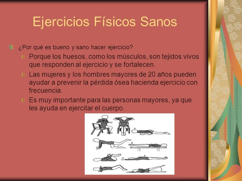 Ejercicios Físicos Sanos