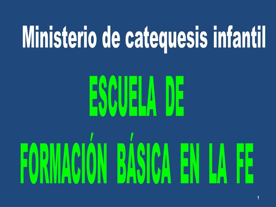 Ministerio de catequesis infantil