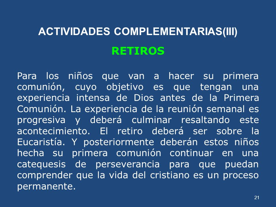 ACTIVIDADES COMPLEMENTARIAS(III)