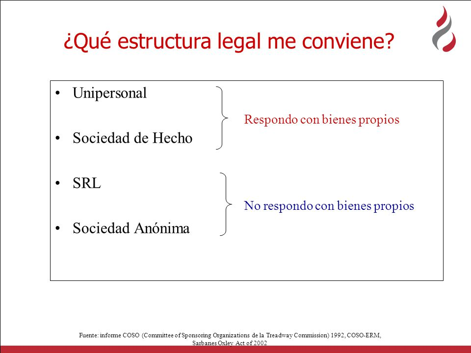 ¿Qué estructura legal me conviene