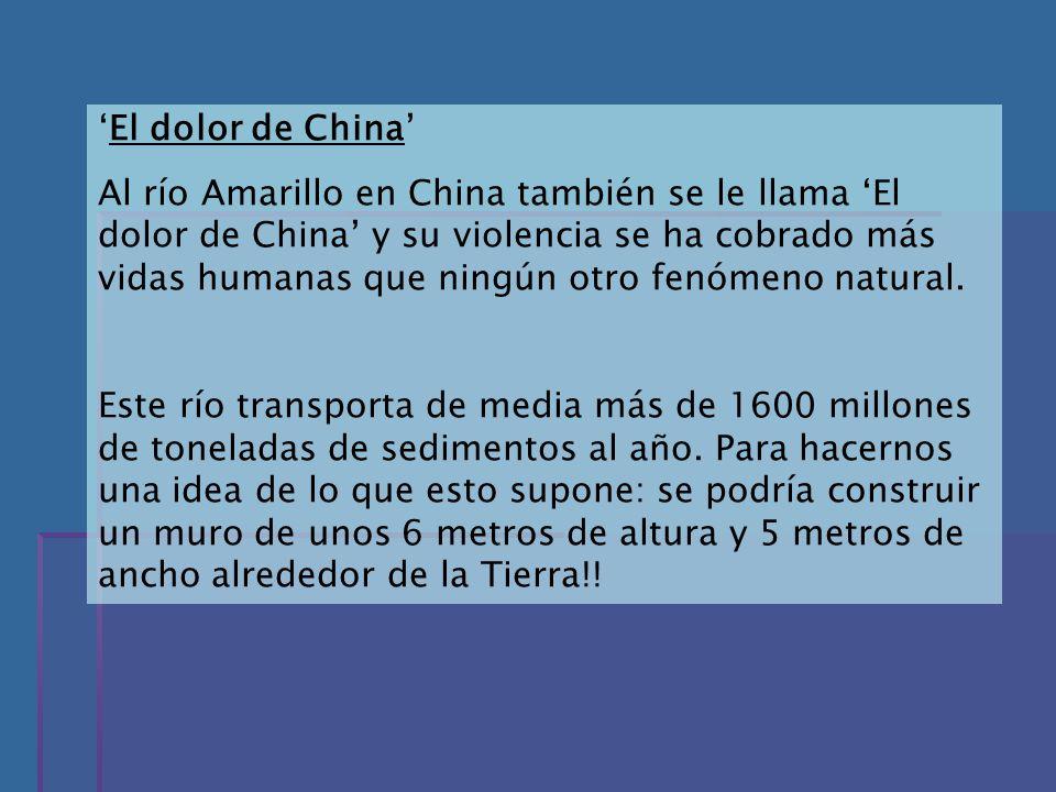 'El dolor de China'