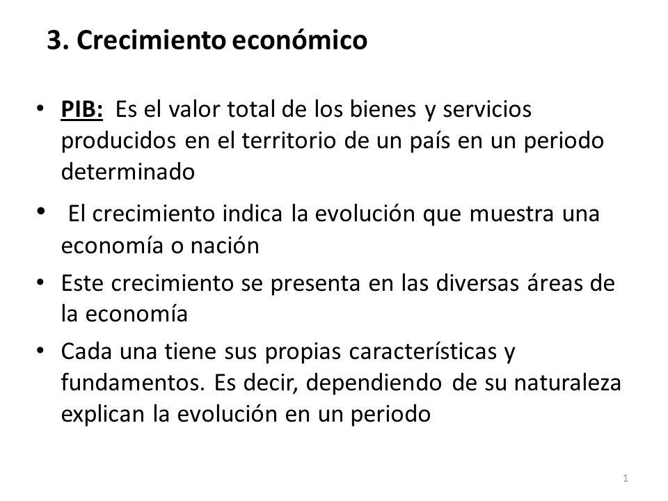 3. Crecimiento económico