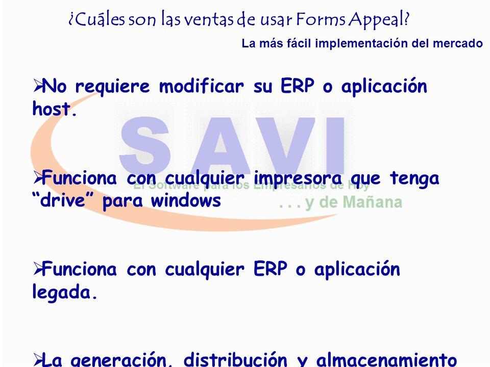 ¿Cuáles son las ventas de usar Forms Appeal