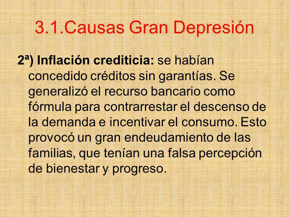 3.1.Causas Gran Depresión