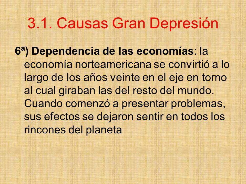 3.1. Causas Gran Depresión