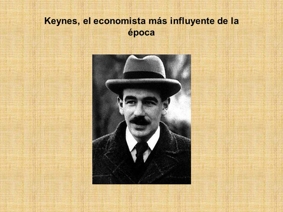 Keynes, el economista más influyente de la época