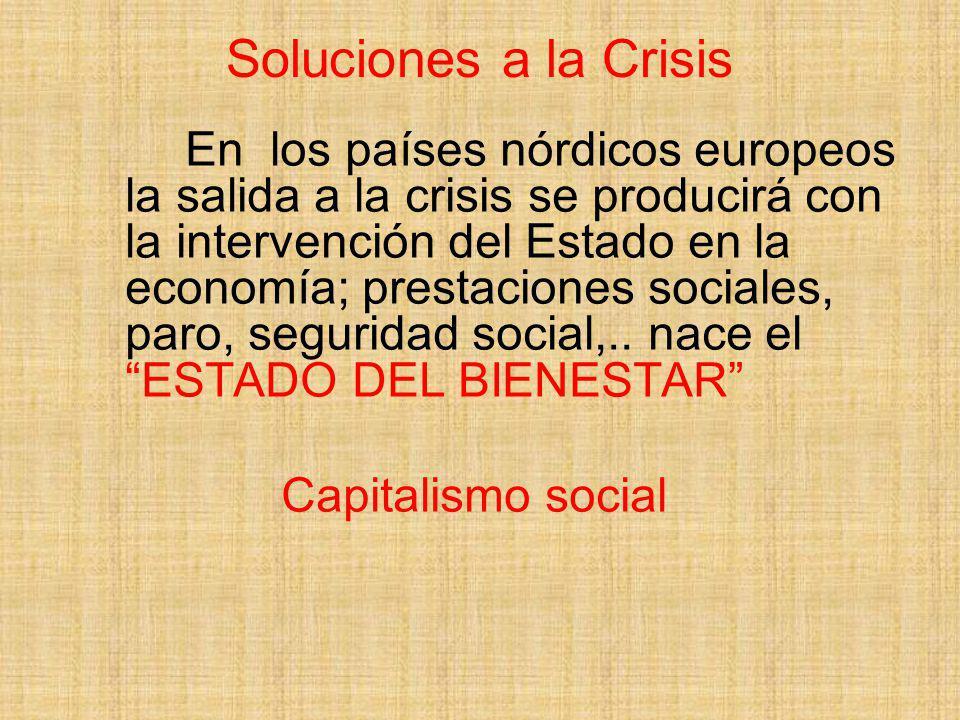 Soluciones a la Crisis Capitalismo social