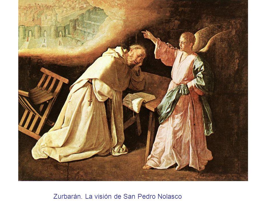 Zurbarán. La visión de San Pedro Nolasco