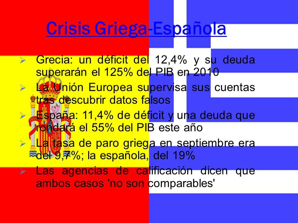 Crisis Griega-Española