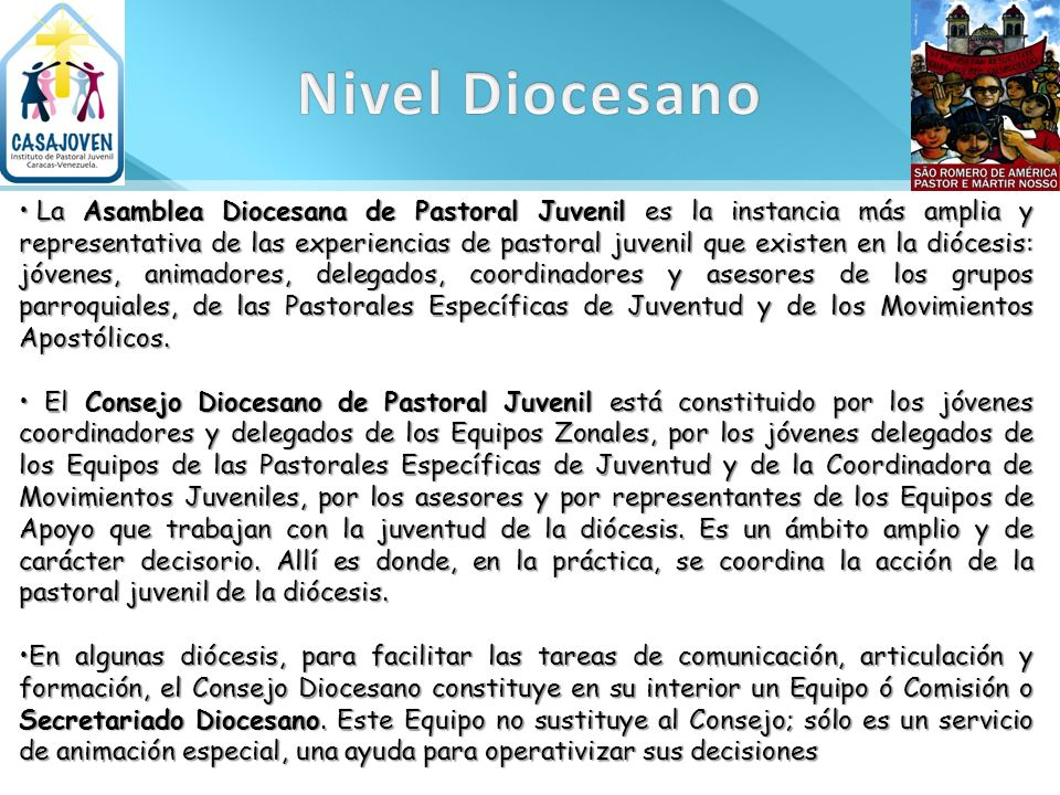 Nivel Diocesano