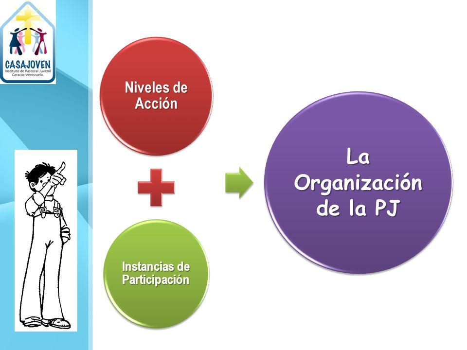 Instancias de Participación La Organización de la PJ
