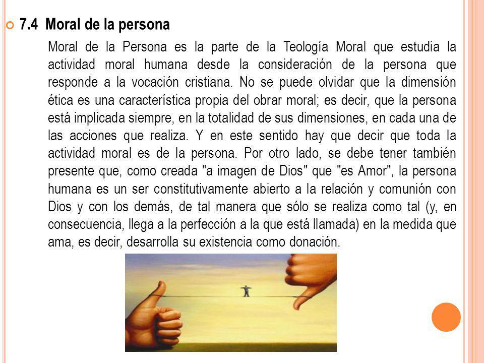 7.4 Moral de la persona