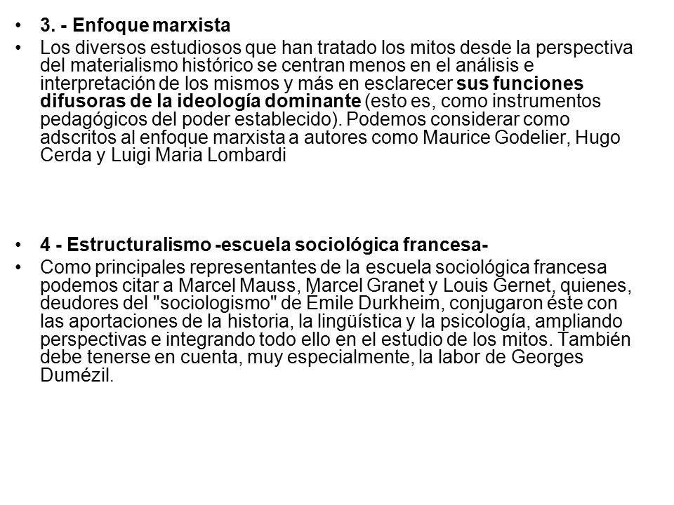 3. - Enfoque marxista