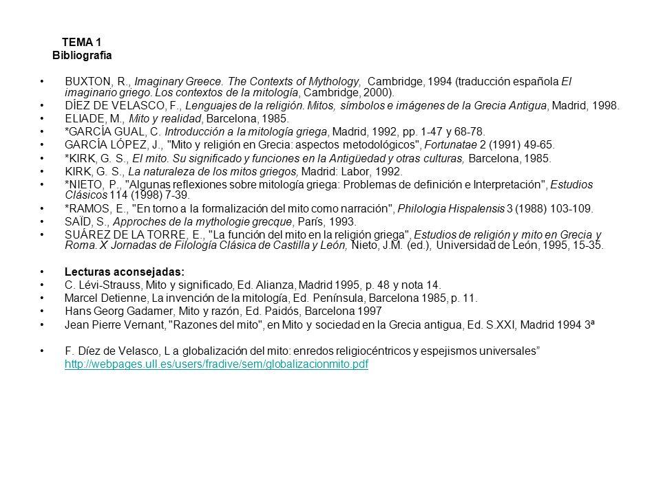 TEMA 1 Bibliografía.