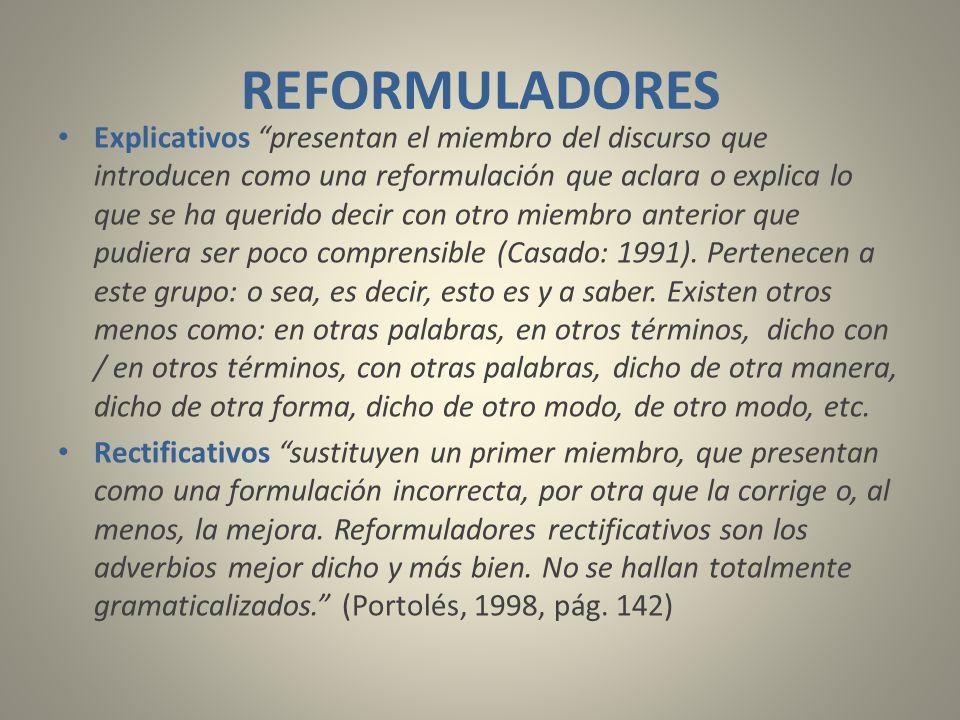 REFORMULADORES