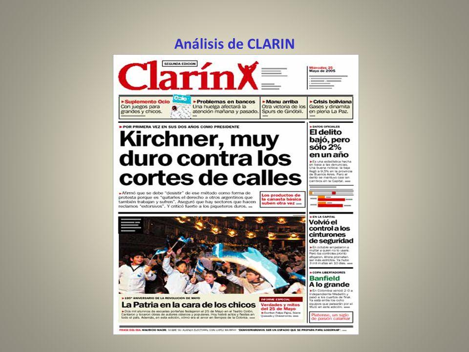 Análisis de CLARIN