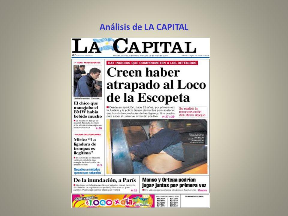 Análisis de LA CAPITAL