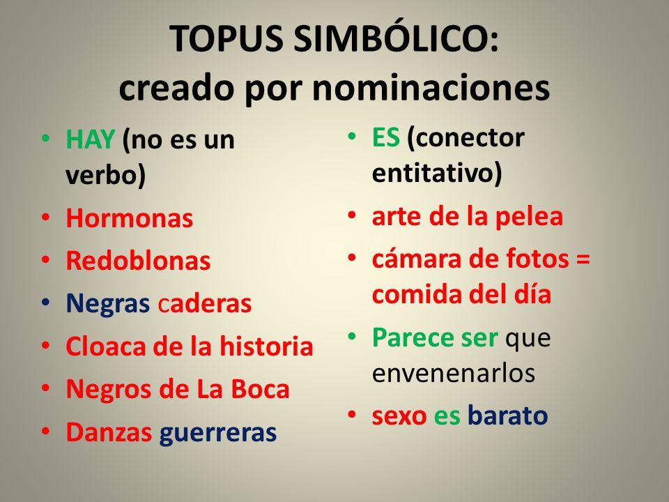 TOPUS SIMBÓLICO: creado por nominaciones