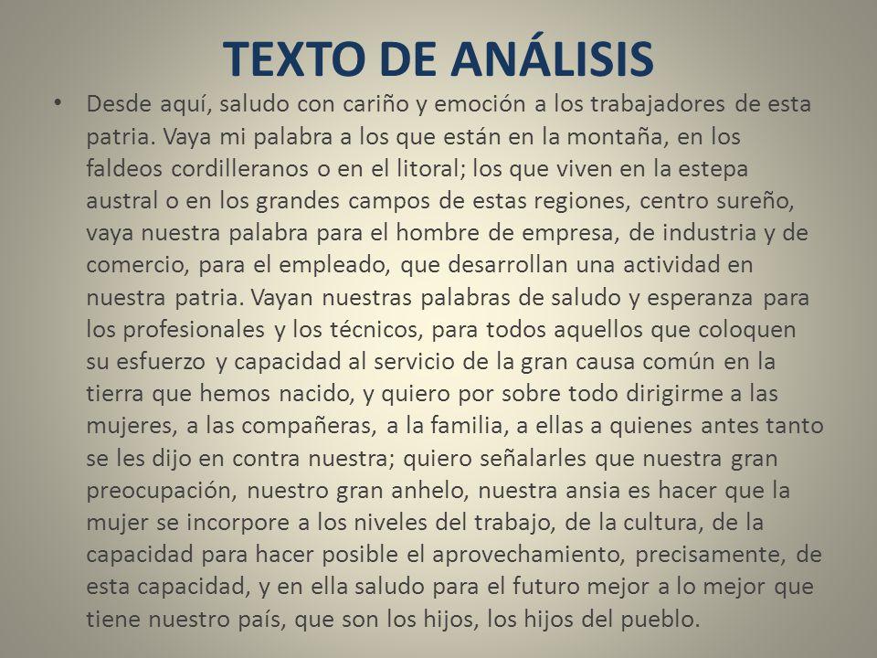 TEXTO DE ANÁLISIS