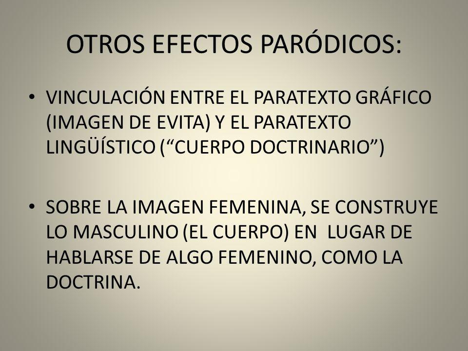 OTROS EFECTOS PARÓDICOS: