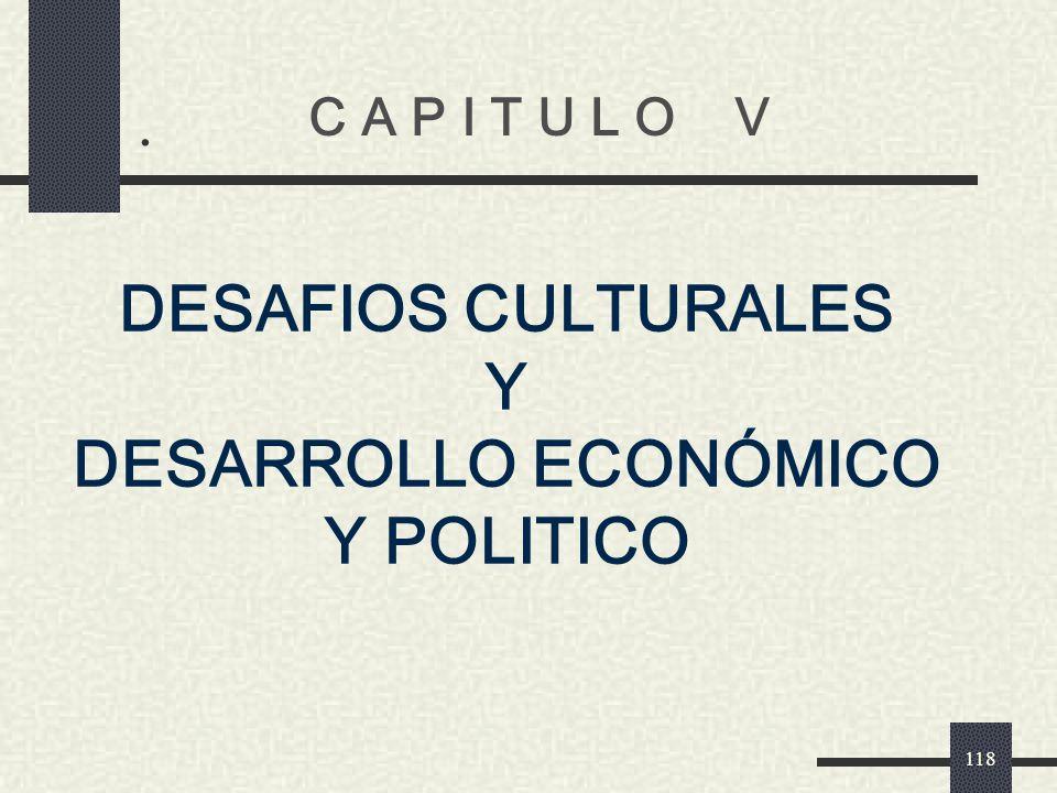 DESARROLLO ECONÓMICO Y POLITICO