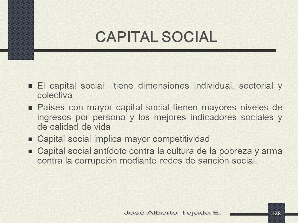 CAPITAL SOCIAL José Alberto Tejada E.