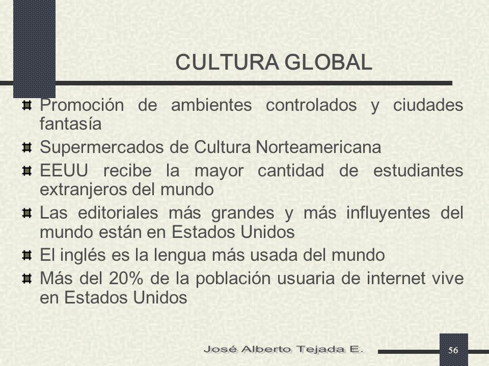 CULTURA GLOBAL José Alberto Tejada E.