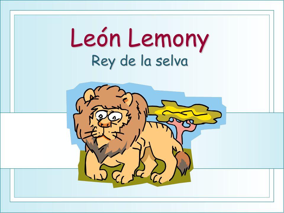 León Lemony Rey de la selva