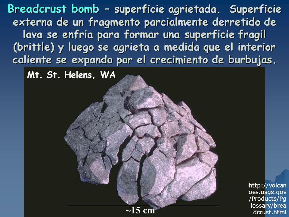 Breadcrust bomb – superficie agrietada