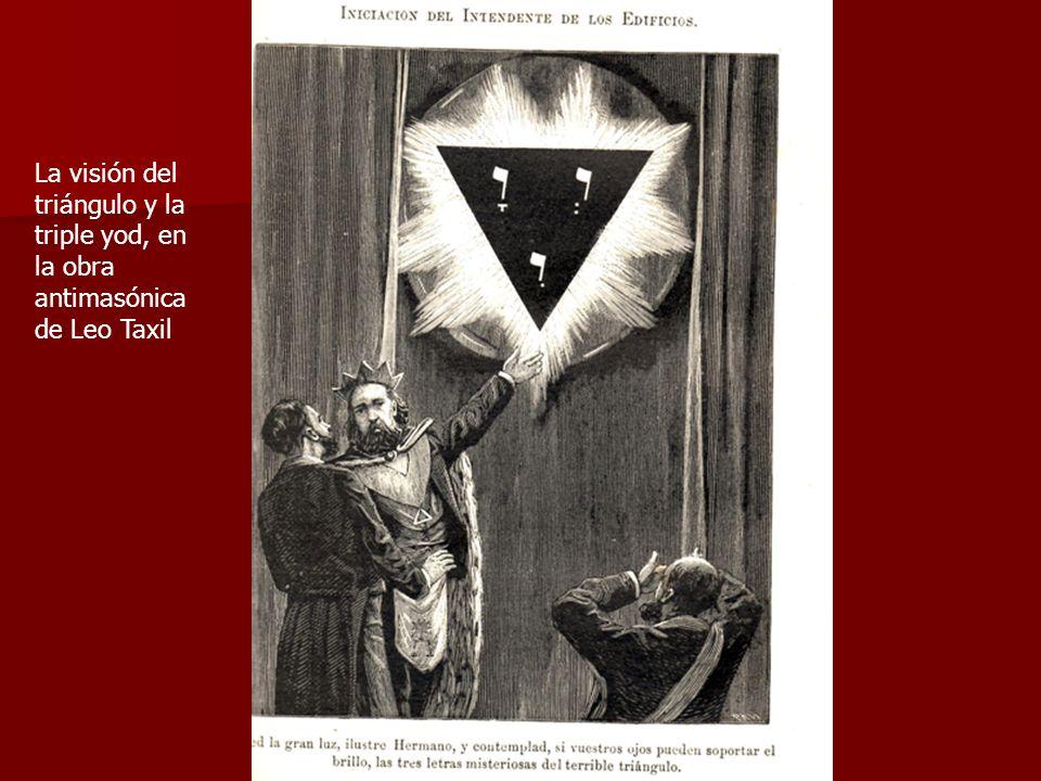La visión del triángulo y la triple yod, en la obra antimasónica de Leo Taxil
