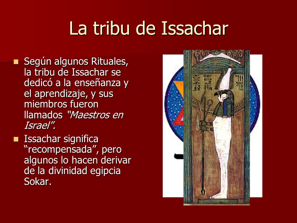 La tribu de Issachar