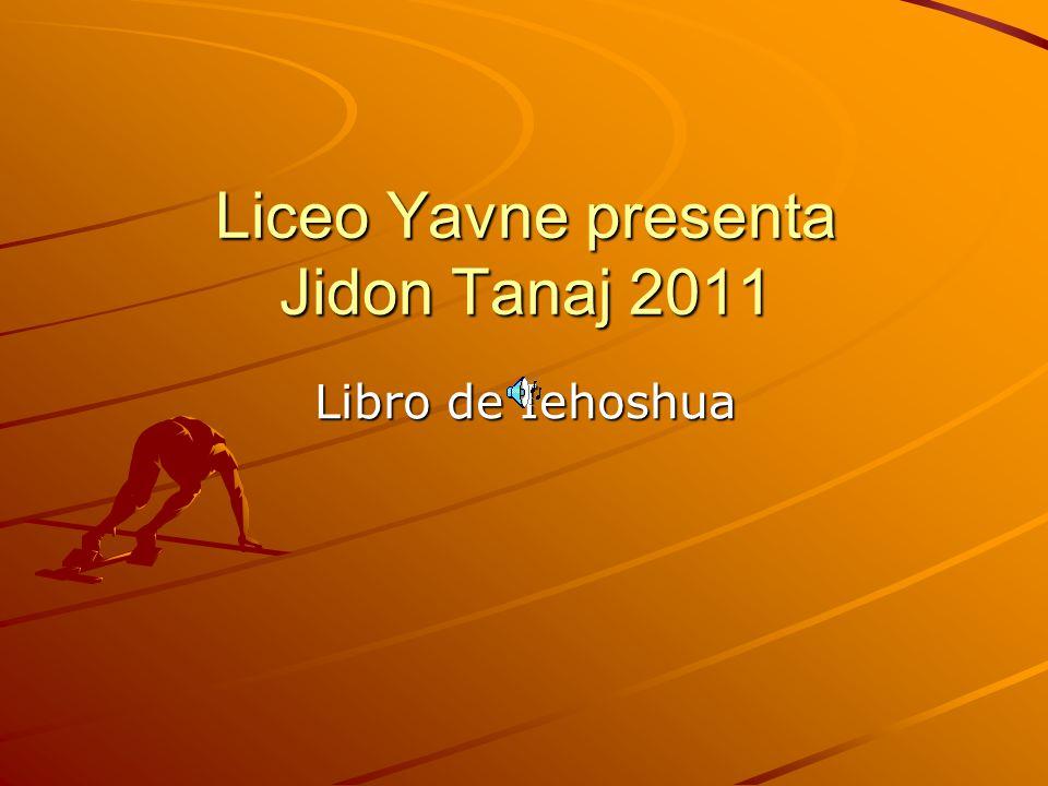 Liceo Yavne presenta Jidon Tanaj 2011