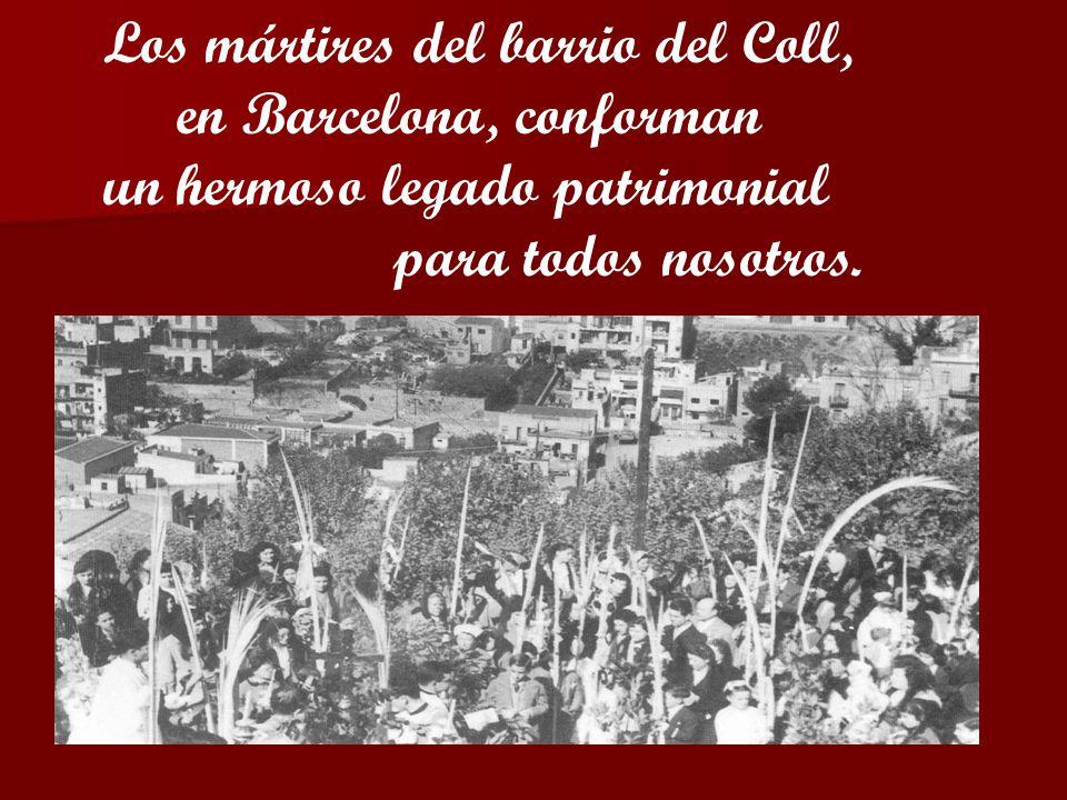Los mártires del barrio del Coll,
