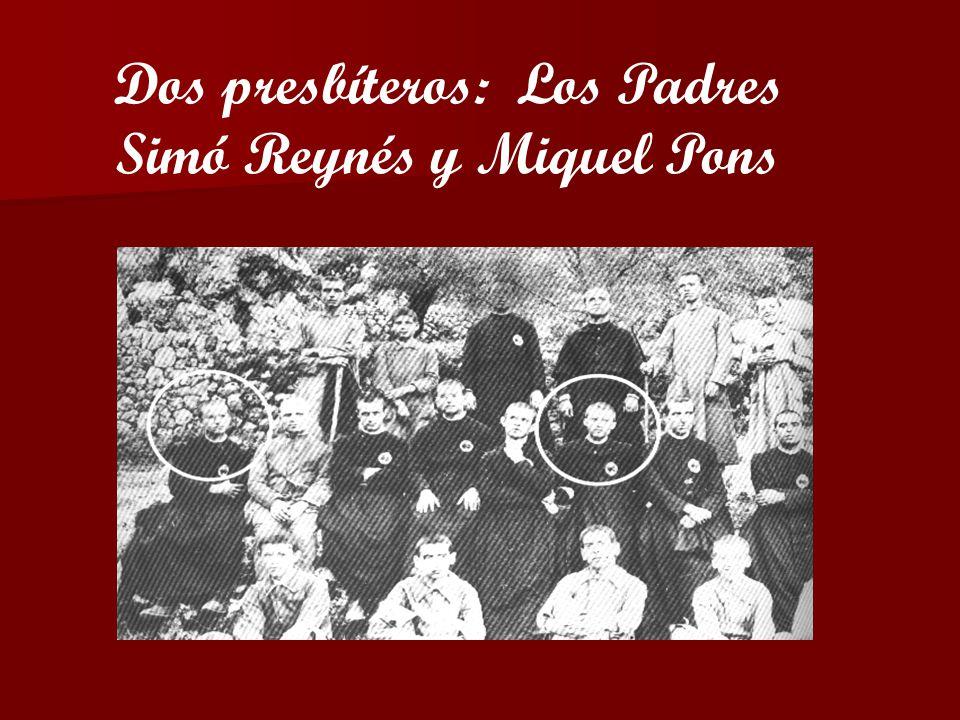 Simó Reynés y Miquel Pons