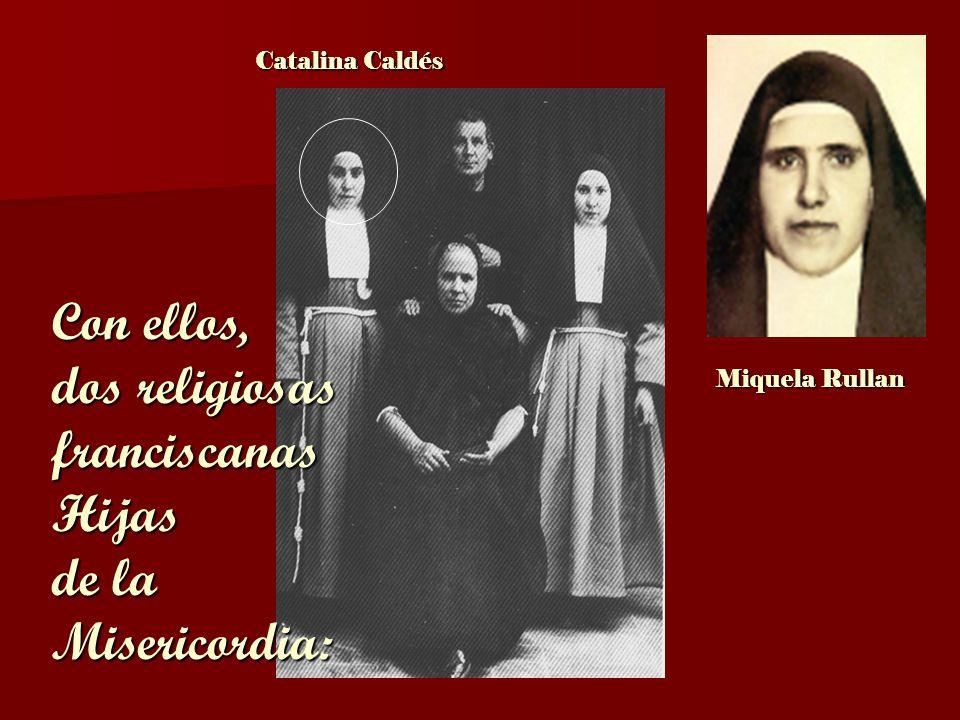dos religiosas franciscanas Hijas