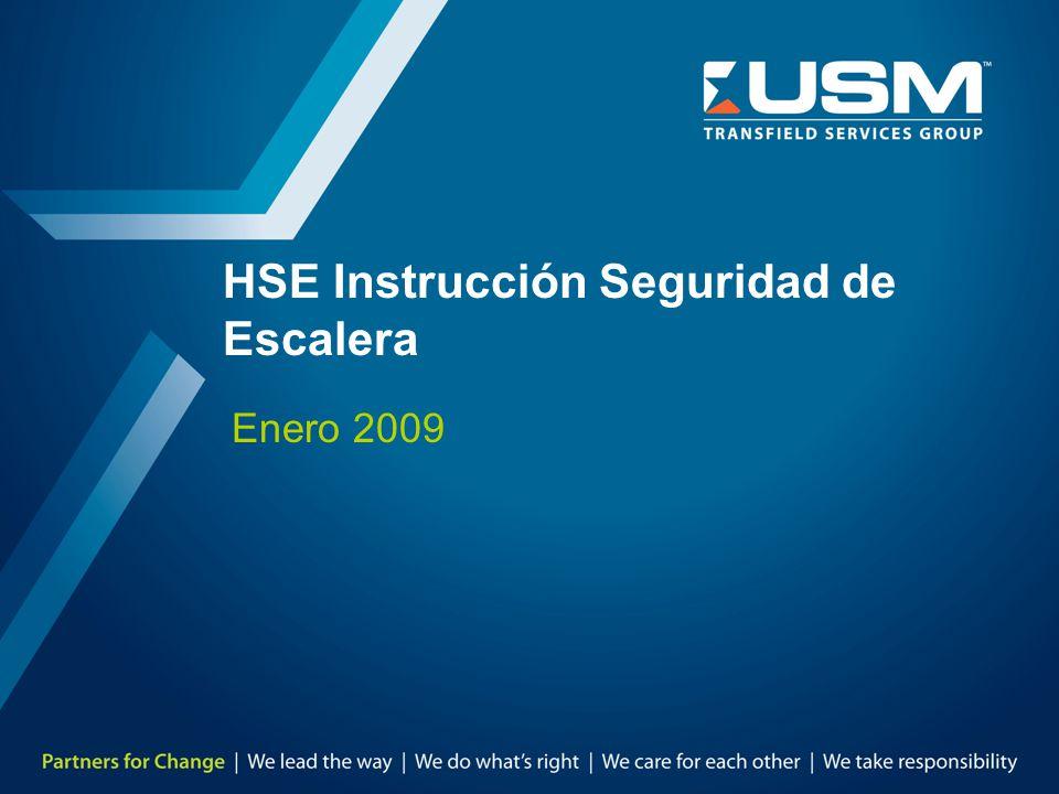 HSE Instrucción Seguridad de Escalera