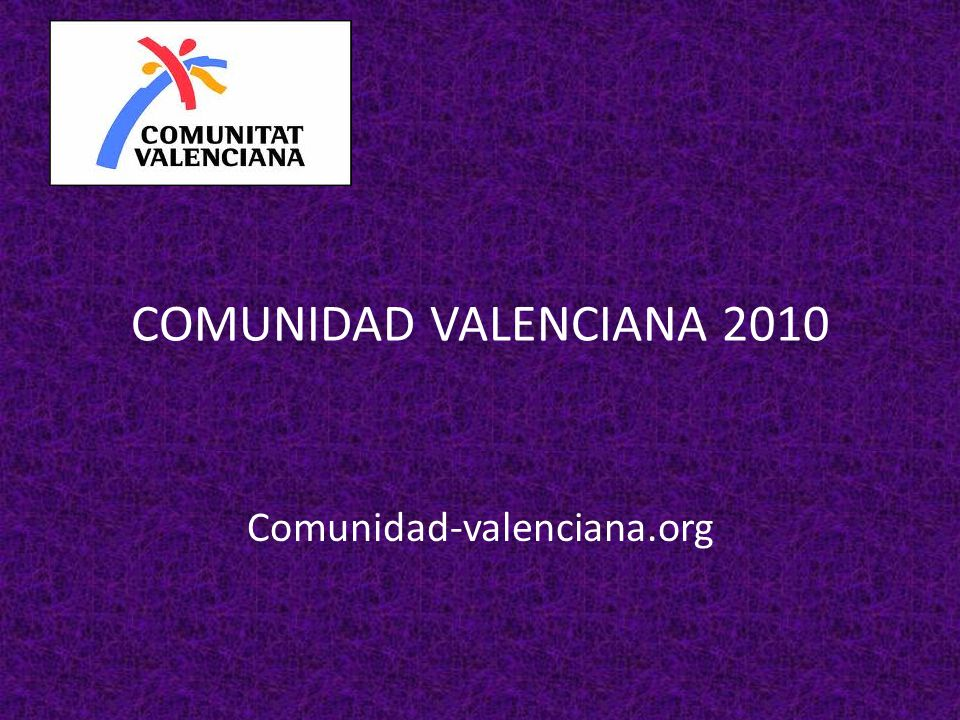 COMUNIDAD VALENCIANA 2010 Comunidad-valenciana.org